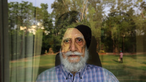 <p>               In this Tuesday, June 4, 2019, photo, Legendary Indian mountaineer Manmohan Singh Kohli, 88, looks out from the glass door of his farmhouse in New Delhi, India. To Manmohan Singh Kohli, who led the first Indian team to the peak of Mount Everest, modern mountaineering bears little resemblance to the expeditions he led decades ago. Operators' tight schedules and climbers' lack of experience has added risks, diminished the adventure and resulted in more casualties, including an expedition that went missing in the Indian Himalayas in late May. (AP Photo/Manish Swarup)             </p>