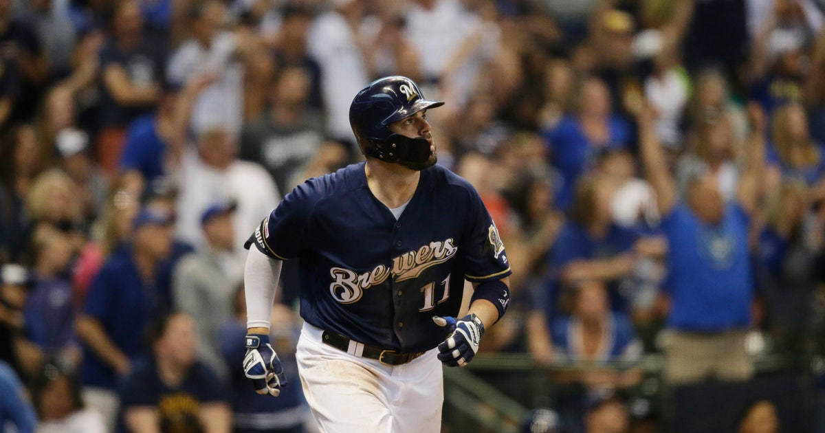 Moustakas home run earns fan new car as Brewers top Pirates