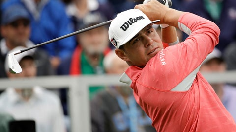 <p>               Gary Woodland watches his tee shot on the first hole during the final round of the U.S. Open Championship golf tournament Sunday, June 16, 2019, in Pebble Beach, Calif. (AP Photo/Marcio Jose Sanchez)             </p>
