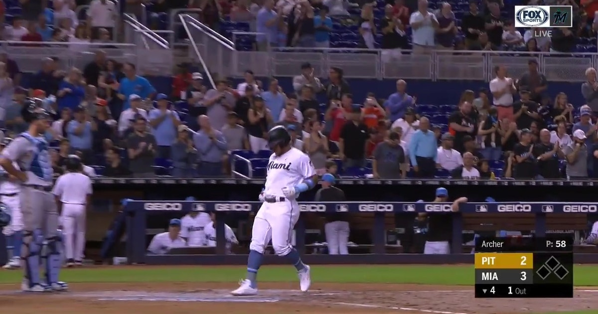 WATCH: Harold Ramirez goes yard in Marlins series finale loss