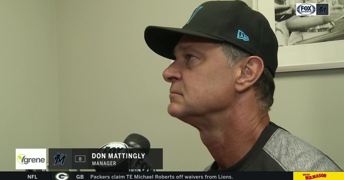 Don Mattingly breaks down Elieser Hernandez's start after Miami's series-opening loss to St. Louis