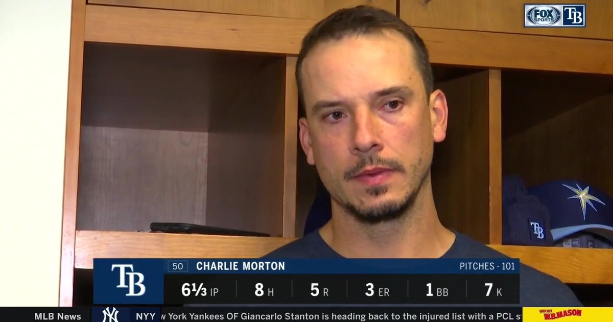 Charlie Morton: 'You can become tighter, closer as a team when you fail together'