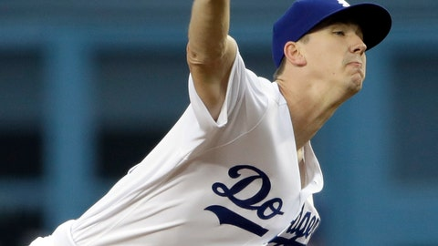 <p>               Los Angeles Dodgers starting pitcher Walker Buehler throws to a Colorado Rockies batter during the first inning of a baseball game Friday, June 21, 2019, in Los Angeles. (AP Photo/Marcio Jose Sanchez)             </p>
