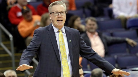 <p>               FILE - In this March 22, 2019, file photo, Iowa head coach Fran McCaffery yells instructions to players in the first half against Cincinnati during a first round men's college basketball game in the NCAA Tournament in Columbus, Ohio. Defections, transfers and a key injury made this the most chaotic offseason in coach Fran McCaffery's decade-long tenure at Iowa. But that doesn't necessarily mean the Hawkeyes are in for a down season in 2019-20. (AP Photo/Tony Dejak, File)             </p>