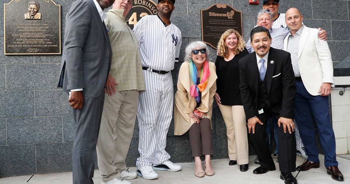 Yankees unveil plaque commemorating Stonewall Inn uprising | FOX Sports