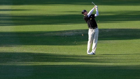 <p>               FILE - In this Thursday, March 14, 2013 file photo, Andy Pope hits from the shadows on the fifth fairway during the first round of the Tampa Bay Championship golf tournament in Palm Harbor, Fla. Pope has qualified for four of the last five US Opens despite never earning a PGA Tour card. (AP Photo/Chris O'Meara, File)             </p>