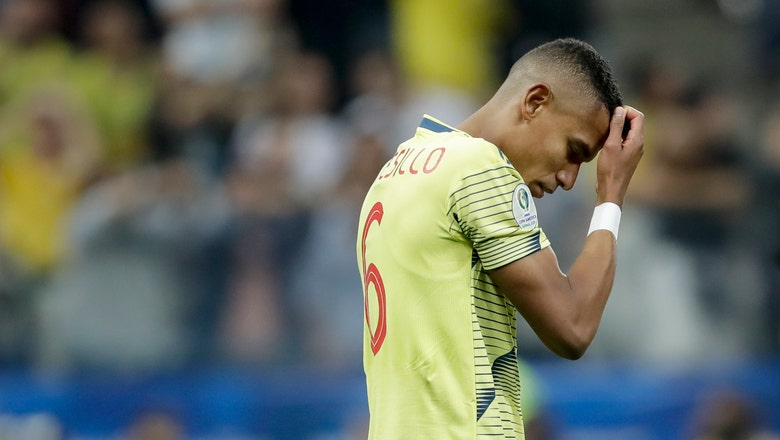 Colombia player's wife cites death threats after Copa exit