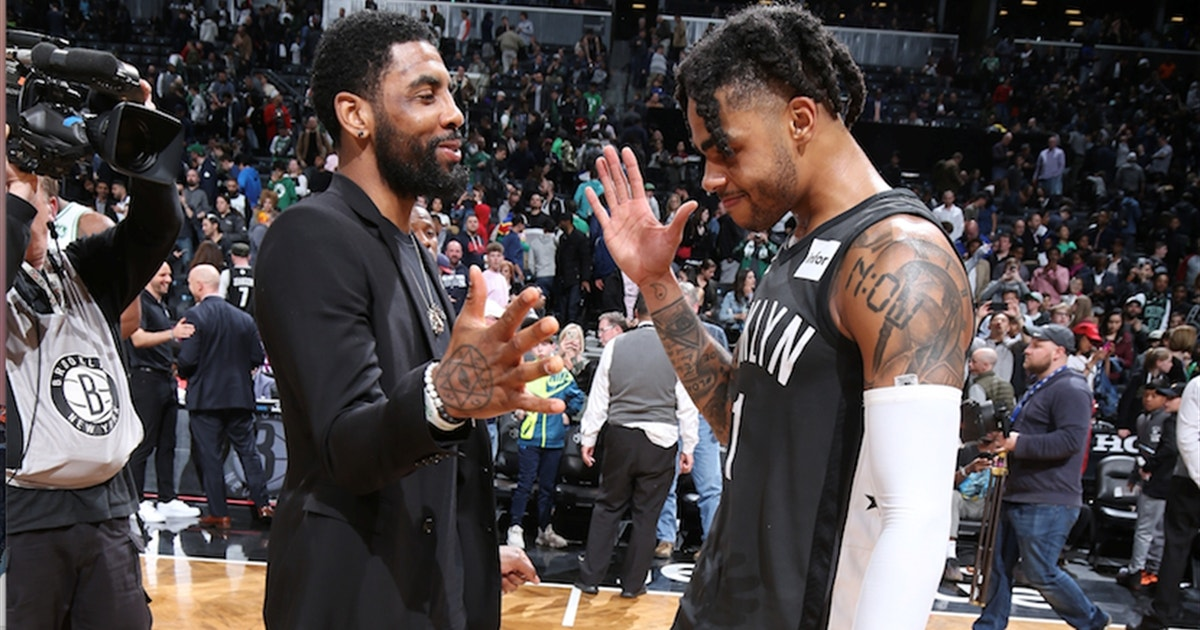 Will Kyrie Irving sign with the Nets or Knicks in free agency? Skip Bayless weighs in