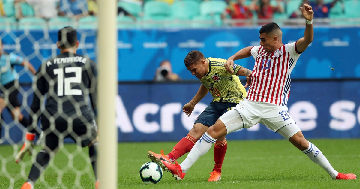 Colombia beats Paraguay at Copa America to stay perfect   FOX Sports