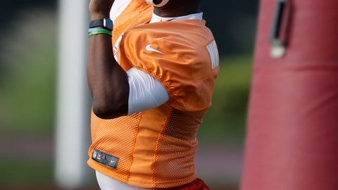 <p>               Tampa Bay Buccaneers quarterback Jameis Winston (3) throws a pass during an NFL football minicamp, Wednesday, June 5, 2019, in Tampa, Fla. (AP Photo/Chris O'Meara)             </p>