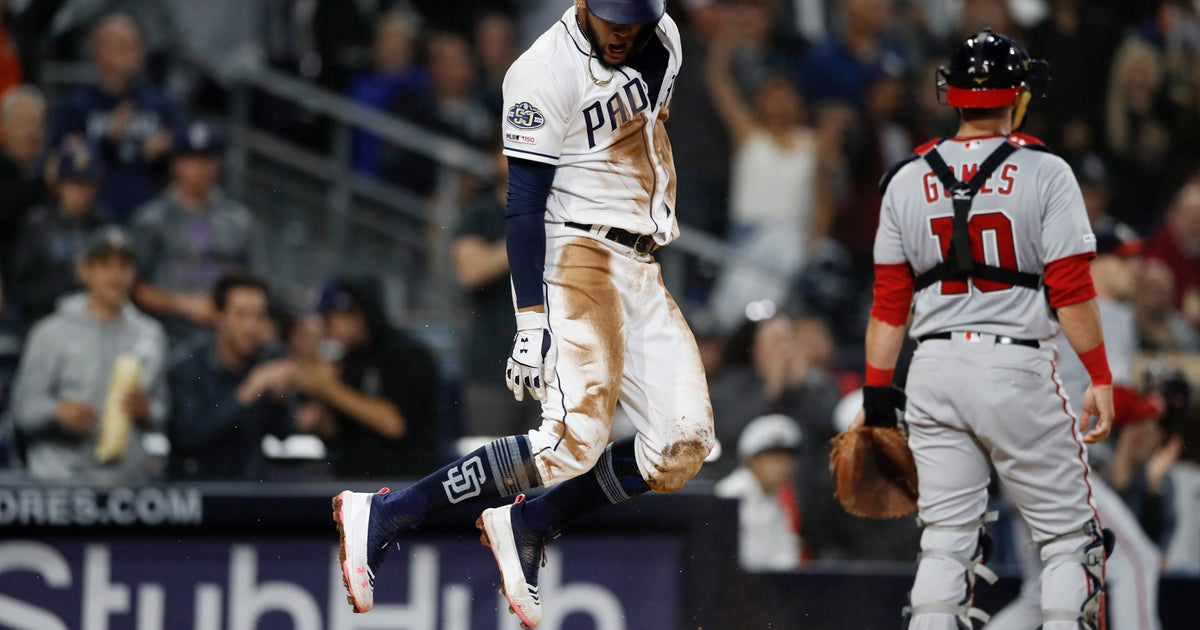 0c3a58d678f Renfroe, Lucchesi aid Padres in 5-4 win over Nationals   FOX Sports