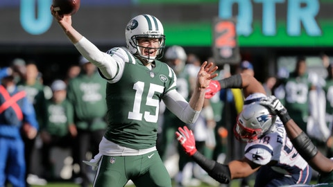 <p>               FILE - In this Nov. 25, 2018, file photo, New York Jets quarterback Josh McCown (15) throws a pass during the first half of an NFL football game against the New England Patriots, in East Rutherford, N.J. McCown has announced he is retiring from playing football after an NFL career that spanned 16 NFL seasons and included stints with 10 teams. McCown, who turns 40 on July 4, writes in a piece for The Players' Tribune on Monday, June 17, 2019, that he will be helping coach his two sons — also quarterbacks — in high school this year.(AP Photo/Seth Wenig, File)             </p>