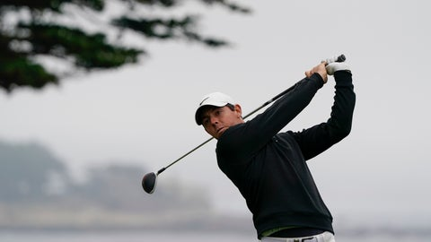 <p>               Rory McIlroy, of Northern Ireland, watches his tee shot on the 11th hole during a practice round for the U.S. Open Championship golf tournament Wednesday, June 12, 2019, in Pebble Beach, Calif. (AP Photo/David J. Phillip)             </p>