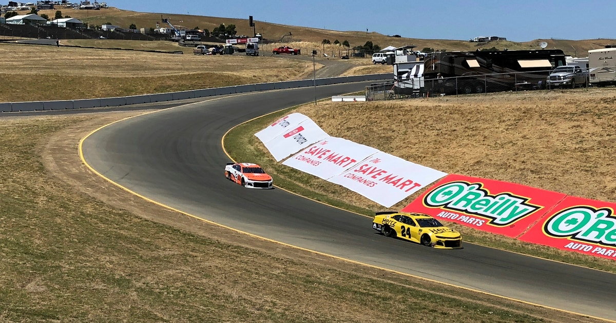 The Latest: Hamlin gets in front for 2nd stage at Sonoma   FOX Sports