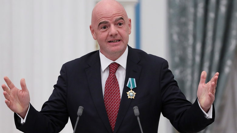 FIFA members gather ahead of Infantino's re-election