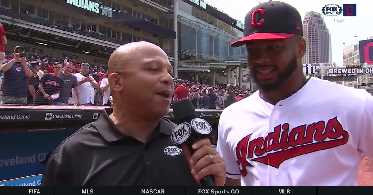 Bobby Bradley on his Indians debut