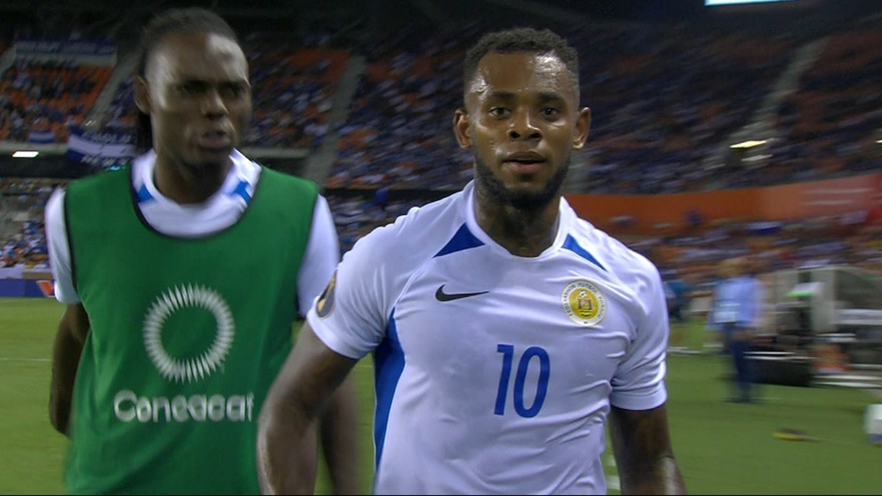 Bacuna scores Curacao's first-ever Gold Cup goal vs  Honduras | 2019  CONCACAF Gold Cup Highlights