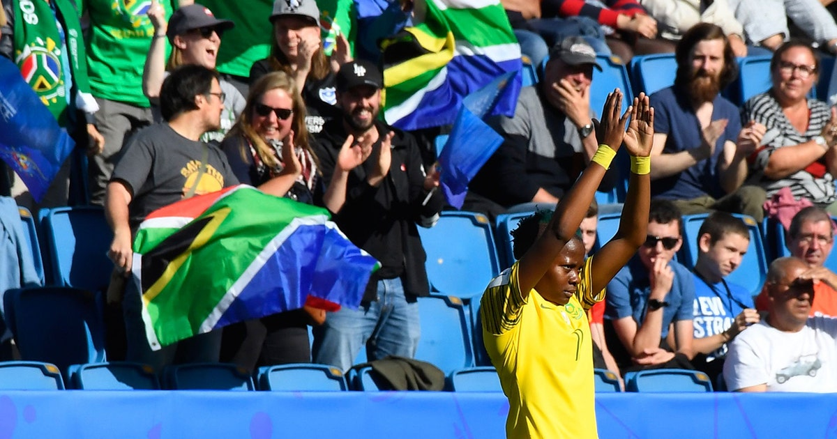 Watch South Africa score their first ever FIFA Women's World Cup™ goal