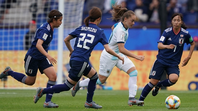 Image result for FIFA women world cup argentina vs japan