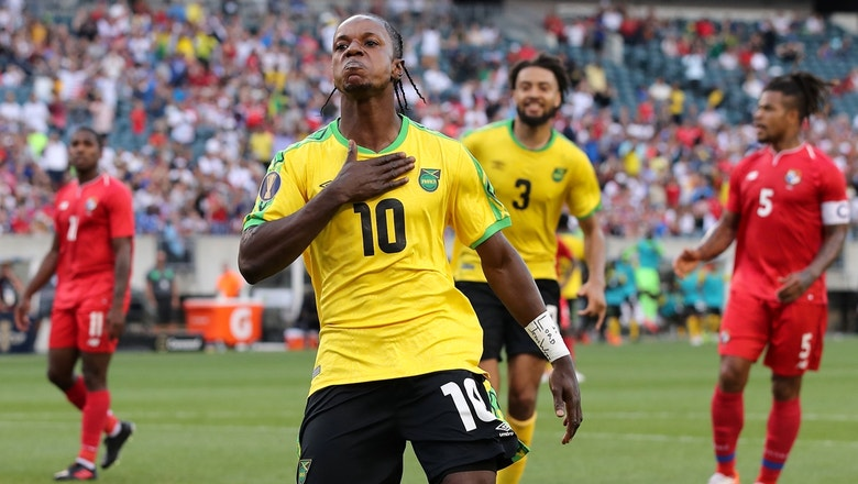 Jamaica's Darren Mattocks scores crucial penalty kick vs. Panama | 2019 CONCACAF Gold Cup Highlights