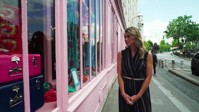 Explore the streets of Paris with Jenny Taft