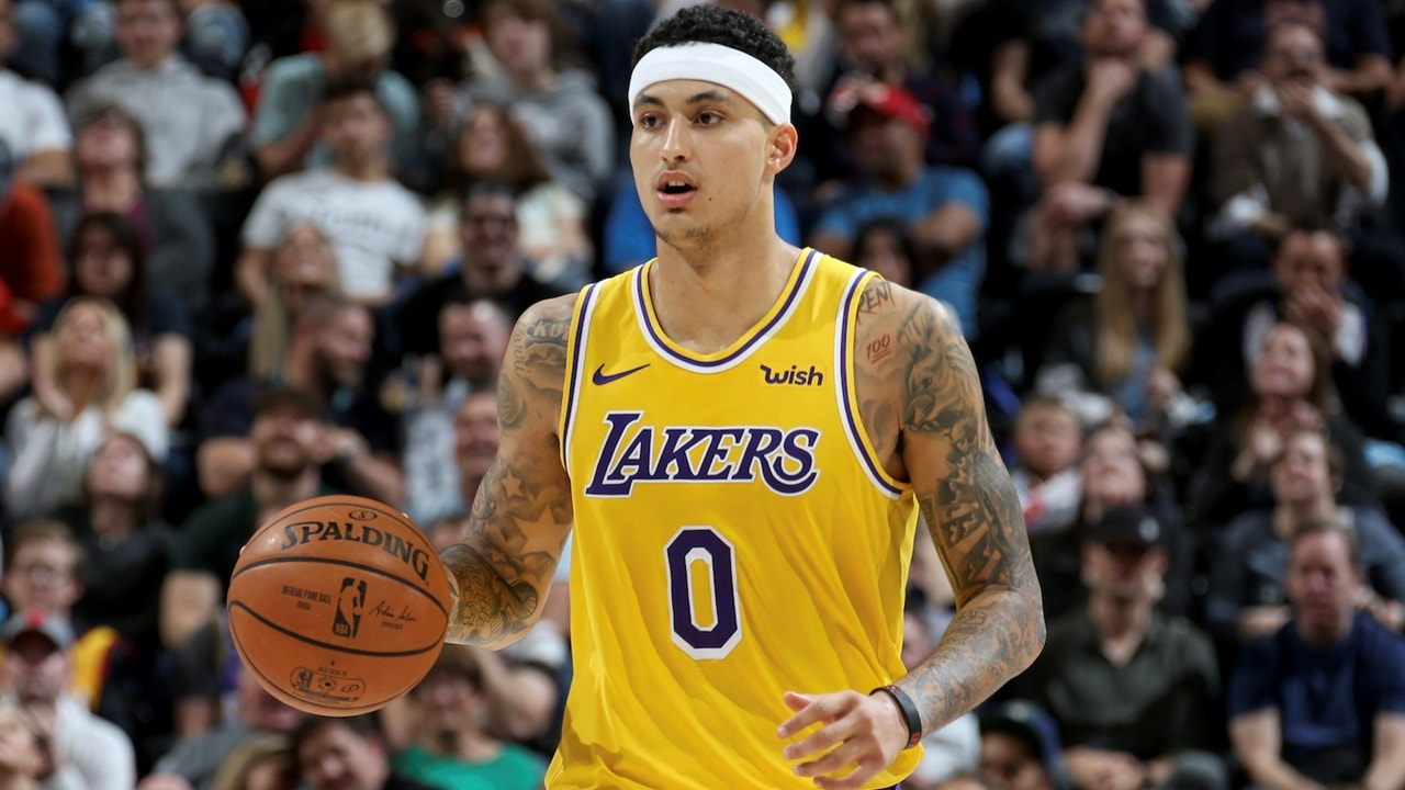 c9d46abcab0 Shannon Sharpe: Lakers will have to trade Kyle Kuzma for AD if no team  takes the 4th Draft pick | FOX Sports