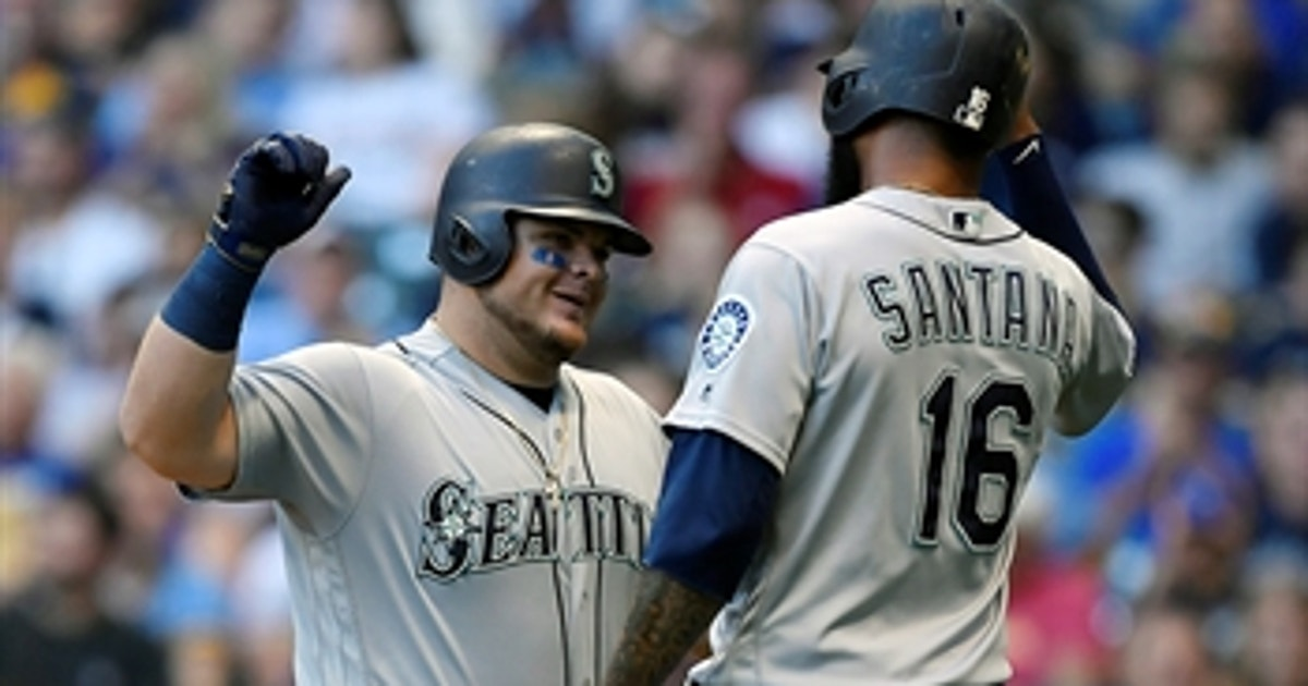 Seattle's strong 3rd inning propels them to 8-3 win over Brewers
