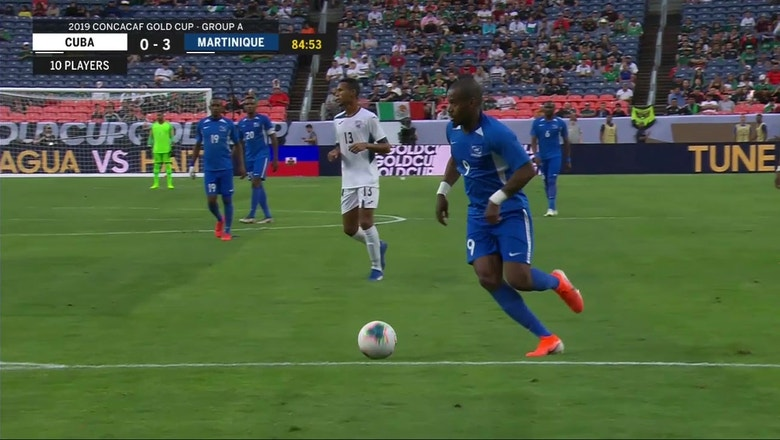 Martinique's Fortune scores off absolute money pass | 2019 CONCACAF Gold Cup Highlights
