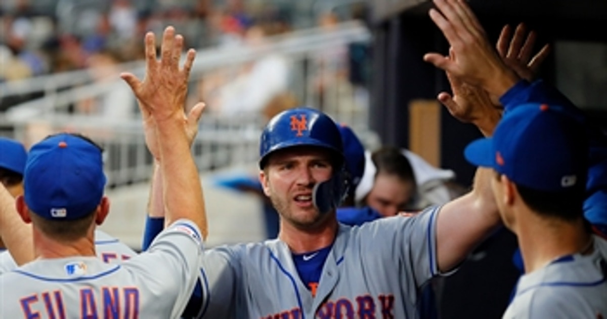Pete Alonso hits 24th home run of his rookie year in win over Braves
