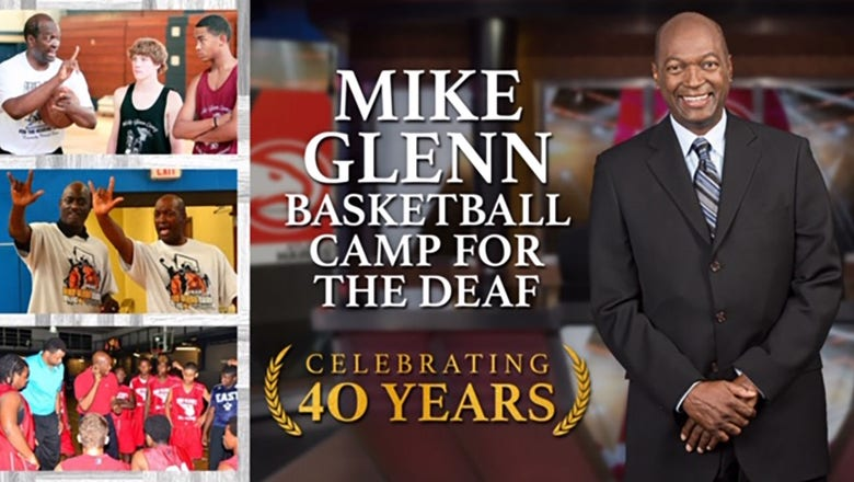 Celebrating 40 years of Mike Glenn's All-Star Basketball Camp for the Deaf and Hard of Hearing