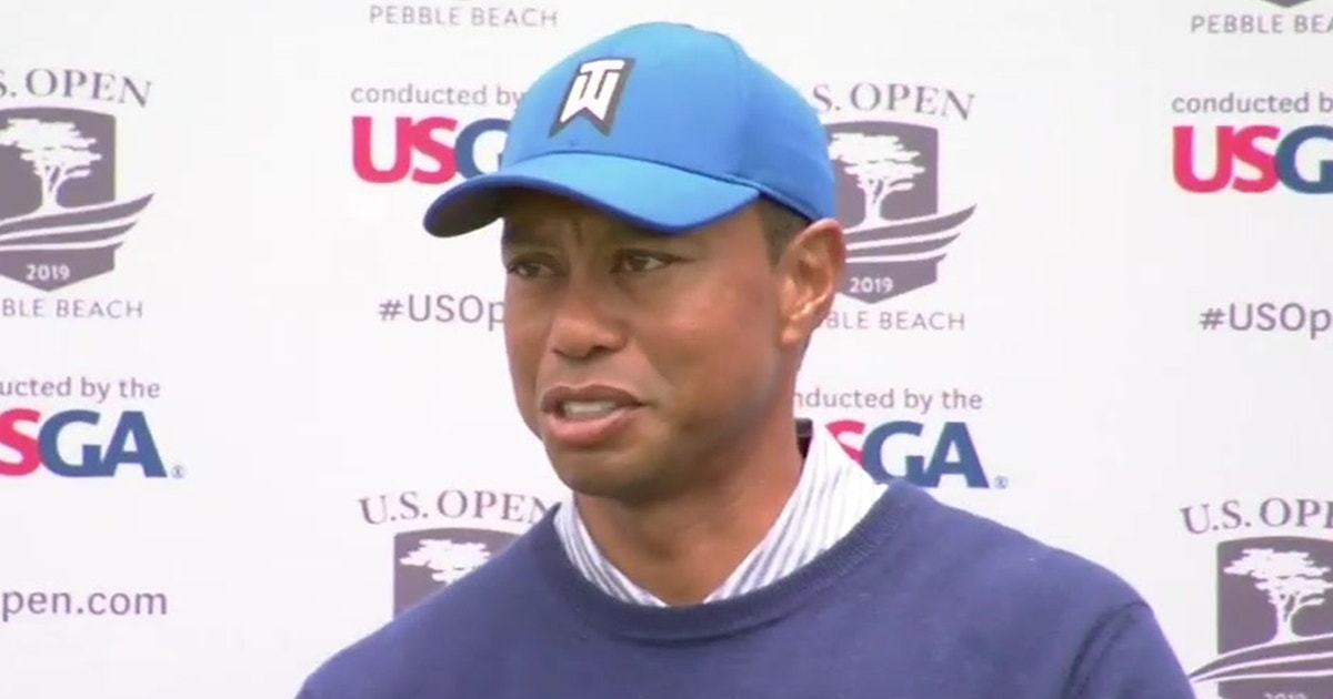 83e72d22ffff21 Tiger Woods frustrated with second round performance at the 2019 U.S. Open