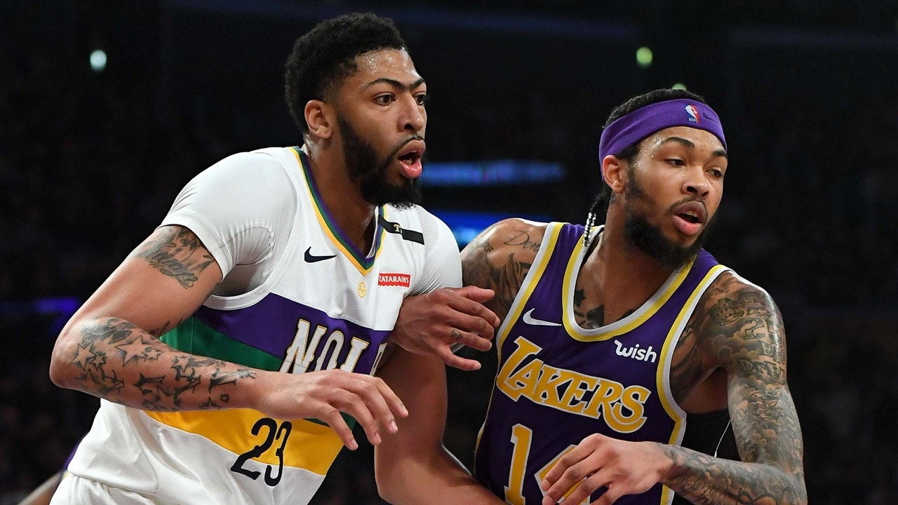 Colin Cowherd outlines how a potential Anthony Davis trade would look for  the Lakers and Pelicans