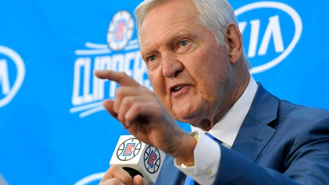 <p>               FILE - In this Monday, June 19, 2017, file photo, Jerry West speaks during a news conference to introduce him as an advisor to the Los Angeles Clippers, in Los Angeles. In a tweet on Saturday, June 1, 2019, President Donald Trump said that West, the pro basketball great, will receive the Presidential Medal of Freedom. (AP Photo/Mark J. Terrill, File)             </p>