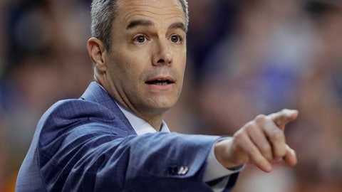 <p>               FILE - In this  Monday, April 8, 2019 file photo, Virginia head coach Tony Bennett directs his team during the first half against Texas Tech in the championship game of the Final Four NCAA college basketball tournament in Minneapolis. Tony Bennett's first offseason as a national champion coach has come with benefits on the recruiting trail. His first season at Virginia after winning the title, however, will bring challenges. (AP Photo/David J. Phillip, File)             </p>