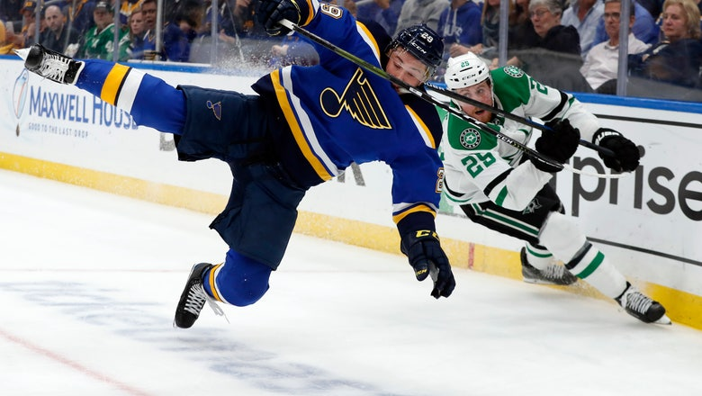 The Latest: Bruins are very superstitious at Cup Final