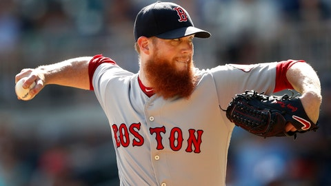 <p>               FILE - In this Sept. 3, 2018, file photo, Boston Red Sox relief pitcher Craig Kimbrel works against the Atlanta Braves in the ninth inning of baseball game, in Atlanta. Free-agent closer Craig Kimbrel has agreed to a contract with the Chicago Cubs. The team said Friday, June 7, 2019, he has passed his physical. Contract terms were not disclosed. (AP Photo/John Bazemore, File)             </p>