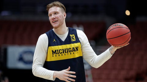 <p>               FILE - In this Wednesday, March 27, 2019 file photo, Michigan's Ignas Brazdeikis smiles while running through a drill during practice at the NCAA men's college basketball tournament in Anaheim, Calif. With only a few days remaining before the NBA draft, Iggy Brazdeikis enjoyed a reunion of sorts when he worked out for the Cleveland Cavaliers. That meant a chance to catch up with John Beilein. The NBA draft is on Thursday, June 20, 2019. (AP Photo/Jae C. Hong, File)             </p>