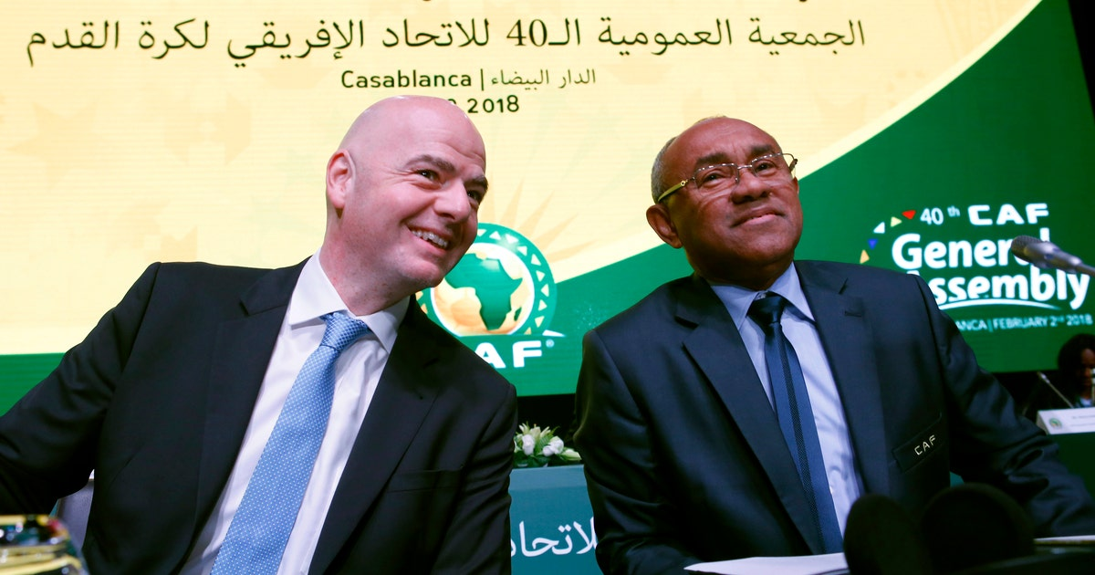 AP Source: FIFA vice president Ahmad detained in Paris