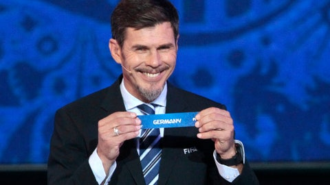 <p>               FILE - In this Saturday, Nov. 26, 2016 file photo, Zvonimir Boban, FIFA's Deputy Secretary General for Football, holds the lot of Germany during the draw for the soccer Confederations Cup 2017, in Kazan, Russia. FIFA presidential adviser Zvonimir Boban is returning to AC Milan as its chief football officer, it was announced Friday, June 14, 2019. Boban has been the deputy secretary general with responsibility for soccer issues. FIFA says he is leaving within days. (AP Photo/Ivan Sekretarev, file)             </p>