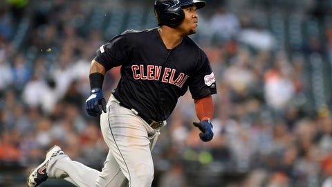 <p>               Cleveland Indians' Jose Ramirez runs after hitting a triple against the Detroit Tigers during the top of the fifth inning of a baseball game, Friday, June 14, 2019, in Detroit. (AP Photo/Jose Juarez)             </p>