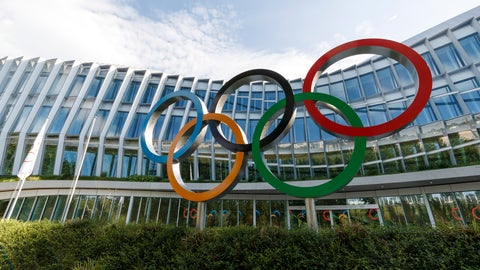 <p>               The new headquarters building of the International Olympic Committee (IOC), in Lausanne, Switzerland, Tuesday, June 18, 2019.  The inauguration of the Olympic House will take place on June 23, during the celebration of Olympic Day. (Cyril Zingaro/Keystone via AP)             </p>
