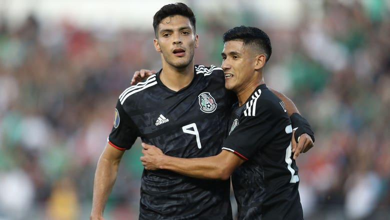 Raul Jimenez scores his second goal of the match vs. Cuba | 2019 CONCACAF Gold Cup Highlights