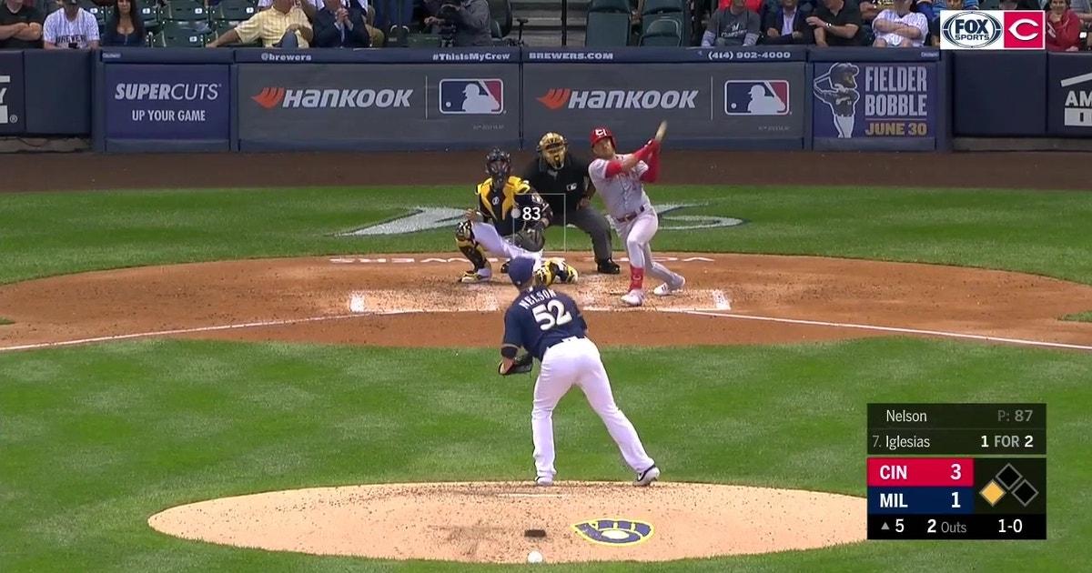 WATCH: José Iglesias' 2-run blast, gives him 4 RBI