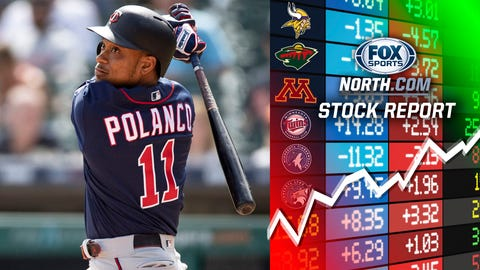 Jorge Polanco, Twins shortstop (⬆ UP)