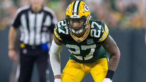 Josh Jones, Packers safety (⬇ DOWN)