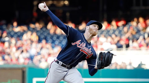 Where does Atlanta's rotation stand after optioning Mike Foltynewicz to Triple-A?