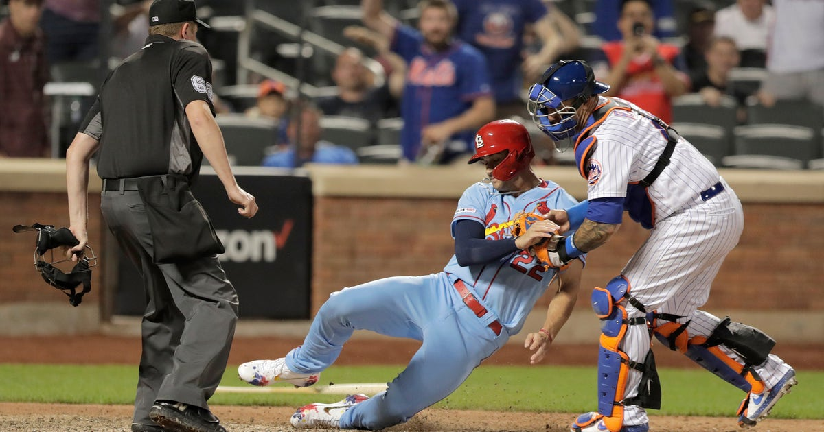 Ninth-inning baserunning blunder downs Cardinals in 8-7 loss to Mets