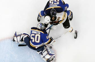 Blues won't win Cup on home ice after 5-1 loss, Bruins force Game 7