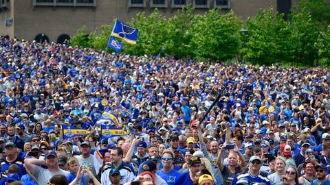 Blues fans