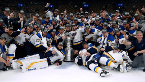 The 2019 Stanley Cup champion St. Louis Blues